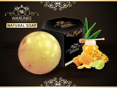 Warunee Beauty - ( Ball 100G. - Natural Soap )