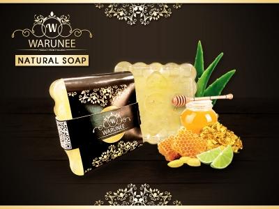 Warunee Beauty - ( Sqaure 50G. - Natural Soap )