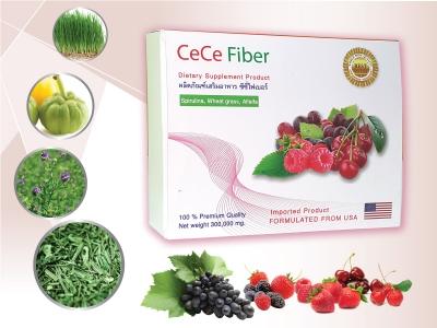 ผลิตภัณฑ์เสริมอาหาร CeCe Fiber