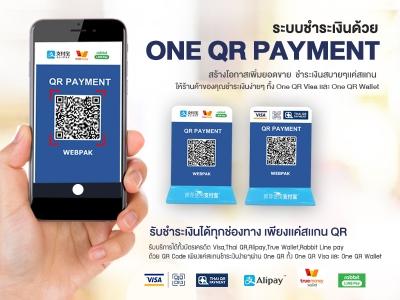 ระบบชำระเงินด้วย One QR Payment